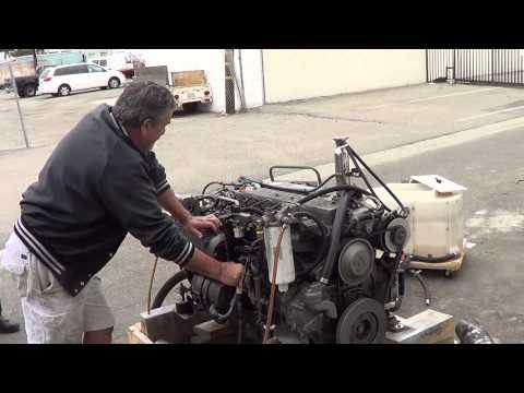 Seaboard Marine Yanmar 6LY Engine Start