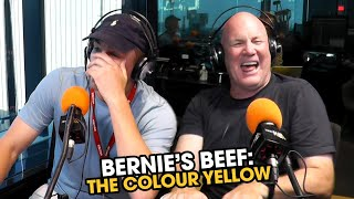 Bernie's Beef: Bernie Vince Can't Stand The Colour Yellow | Triple M