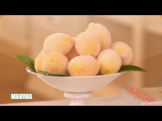 Sugared Lemon Centerpieces Diy Wedding Ideas Martha