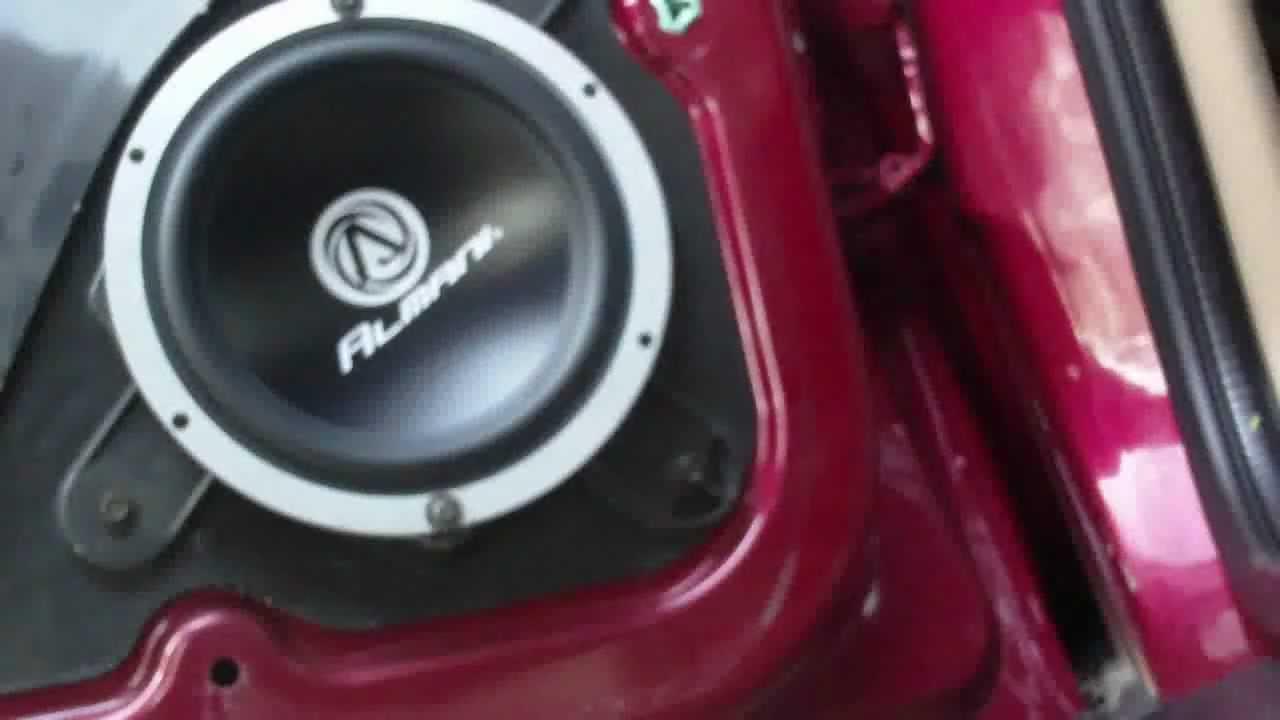 chevy trailblazer speaker install!!! - YouTube