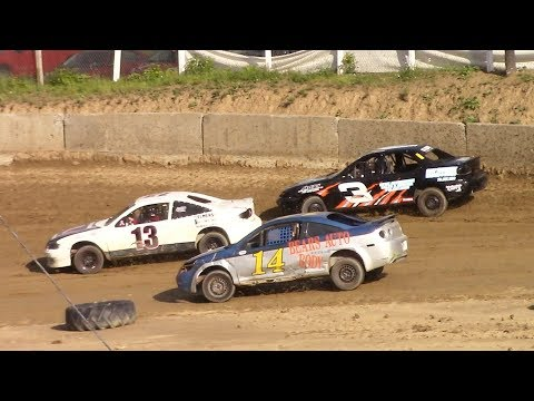 Mini Stock Heat One | Old Bradford Speedway | 7-9-17