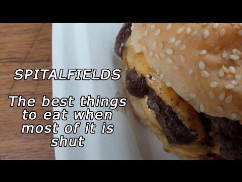 WHAT TO EAT AT SPITALFIELDS WHEN IT'S HALF SHUT | Kim and Sophia