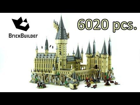 lego hogwarts castle second biggest set ever 6020 harry potter 71043 lego speed build. Black Bedroom Furniture Sets. Home Design Ideas