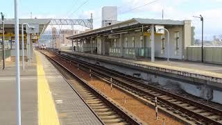 2907D 快速みえ7号 鳥羽行 キハ75形200番台②全検明け 八田駅 通過  2021年1月29日(金)撮影