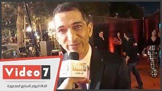 عمرو واكد قبل افتتاح فيلمه بمهرجان أيام قرطاج السينمائية