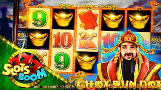 HIT & BONUSES on CHOY SUN DOA 5c  Aristocrat Video Slots