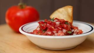 Fresh Pico De Gallo Salsa Recipe