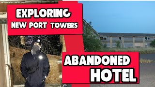 Exploring abandoned hotel (GONE WRONG) Dead bodie found!!!!