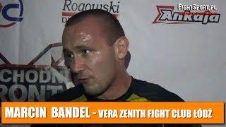 Marcin Bandel po walce na gali Wschodni Front 1 - Noc Vikingów
