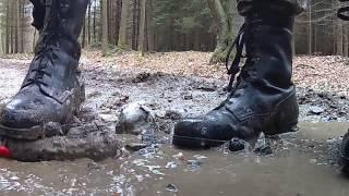 Army Boots Crush Plush Dog