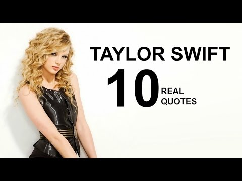 Taylor Swift 10 Real Life Quotes on Success | Inspiring | Motivational Quotes