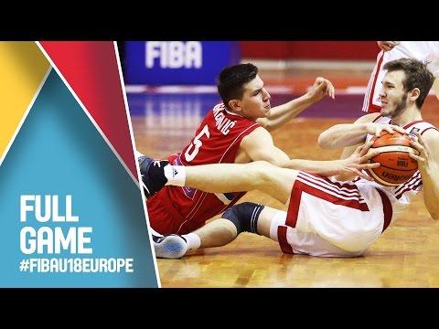 Russia v Serbia - Live - FIBA U18 European Championship 2016