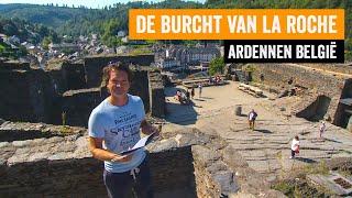 De burcht van La Roche I Ardennen België tijdens kampeervakantie van RTL Kampeert