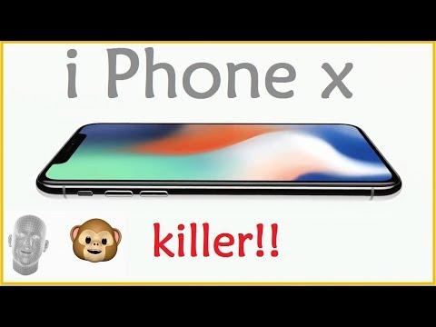iphone x killer sign