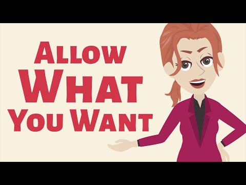 Abraham Hicks ~ Allow What You Want