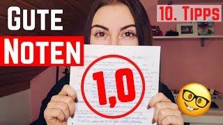 10 Lerntipps für gute Noten!
