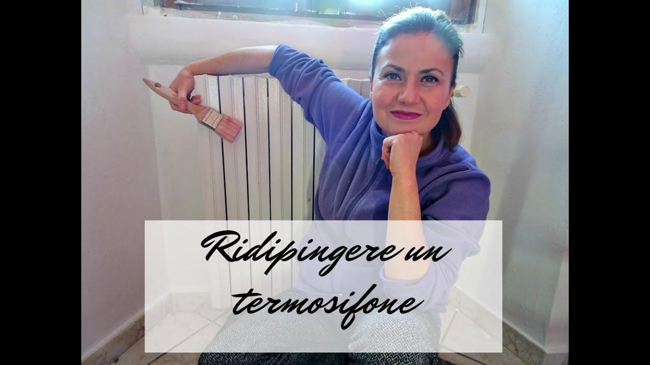 Smontare Termosifone Dal Muro come ridipingere un termosifone.