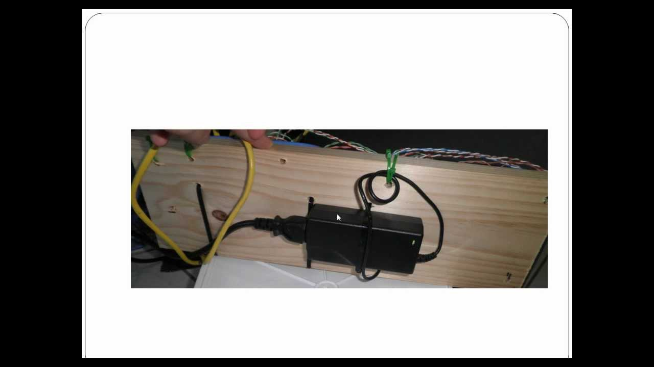 medium resolution of tutorial how to wire up power over ethernet on cat 5 cabling cisco 7940 youtube
