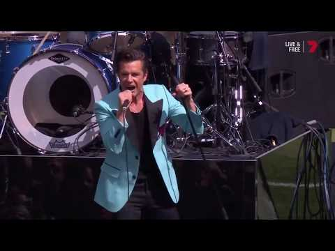 "The Killers cover Midnight oil, ""Forgotten Years"" @ AFL Grand Final 2017"