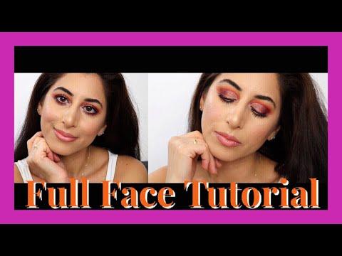 Half Cut Crease Full Face Glam 💕Hanadibeauty& Makeup Geek Eyeshadows/ Rumibeauty 💕 thumbnail