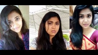 Tamil so cute girl anju all dubsmash hd video_ tamil cute girl dubsmash