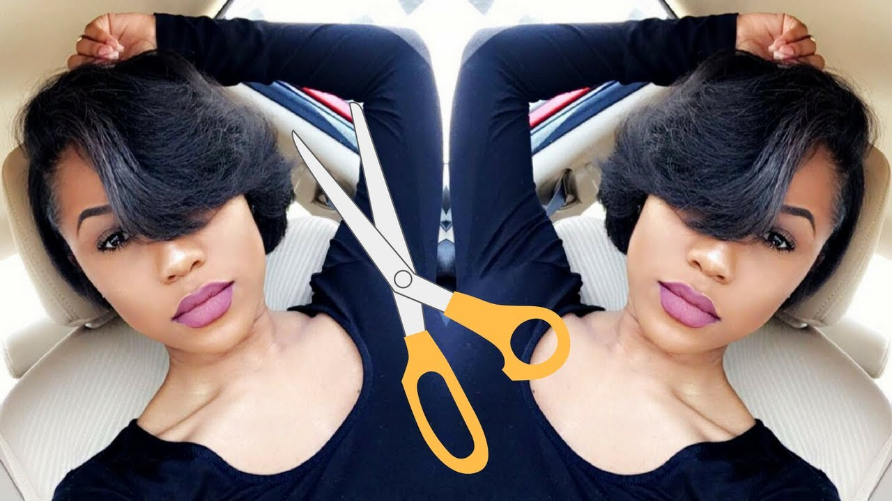styling my super short relaxed hair | hair update