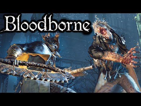 Bloodborne Father Gascoigne Boss Fight Music Box Secret Hunter Armor PART 3 Gameplay Walkthrough PS4
