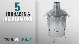 Top 10 Furnaces & Incinerators [2018]: CrazyGadget® 15L 15 Litre Galvanised Metal Incinerator Mini