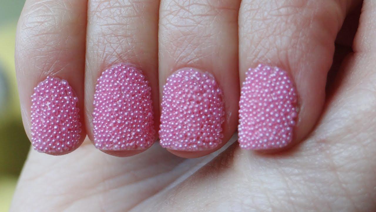 Uñas caviar con trucos para mejores resultados - YouTube