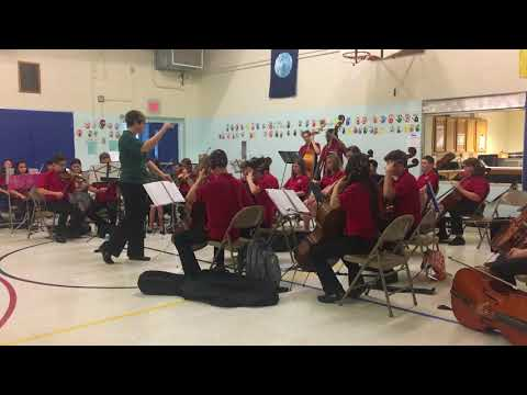 """O'Neil Middle School Orchestra """"Stranger Things"""" Theme"""
