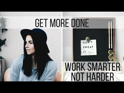 How To Be Productive After School  Work  Lazy Day Routine Hacks!