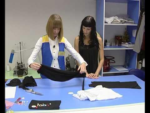 видео: Пошив модной майки.