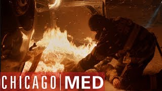 The Blizzard Pile-Up | Chicago Med