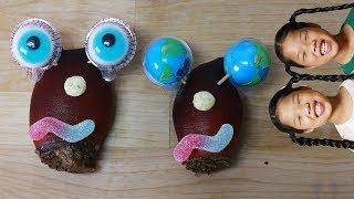 Mukbang Earth Jelly Silk sea squirt 지구젤리 비단멍게 먹방 TwinRoozi 쌍둥이루지