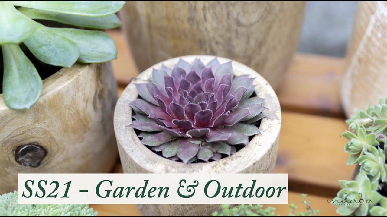 Indaba Spring/Summer 2021 -  Garden & Outdoor