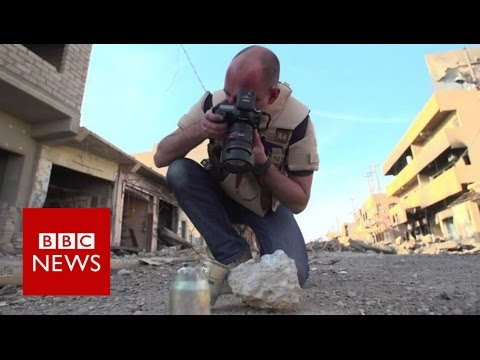 Mosul: On the trail of IS weapons in Iraq - BBC News