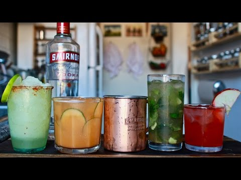 Beginners Guide to Mixed Drinks (Featuring the Moscow Mule)