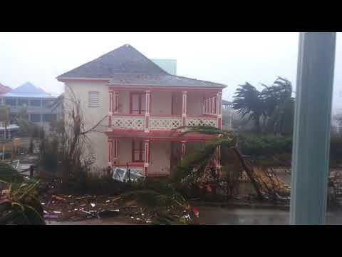 St. Martin Orient Bay Hurricane Irma 2017