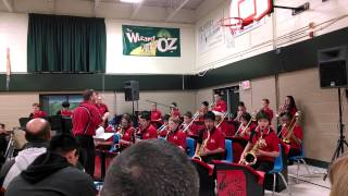 District 54 Jazz Band, Lincoln Prairie Winter Concert - Swinging Holiday, 12/10/13