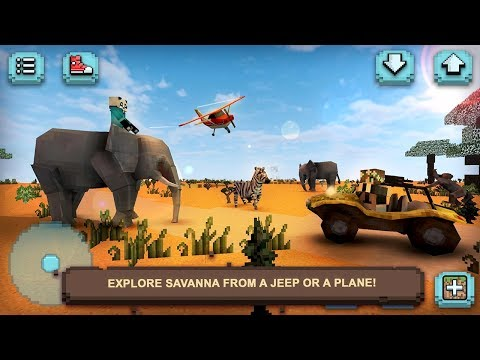 Safari Craft Exploration (by Tiny Dragon Adventure Games) Android Gameplay [HD]