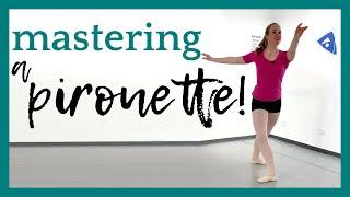 Mastering A Pirouette! | Broche Ballet