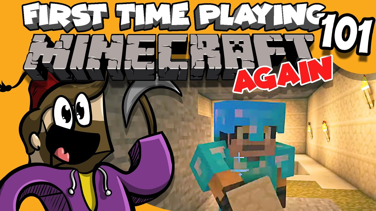 Let's Play Minecraft - #101- First Time playing after a long time