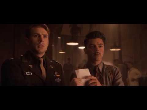 Капитан Америка выбирает щит из Вибраниума. Капитан Америка 2011