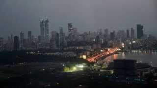 Mumbai Bombay India Sunset From Four Seasons Aer Rooftop Bar