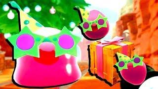 【小熙解说】史莱姆牧场 节日派对史莱姆更新! 竟然还找到游戏彩蛋!