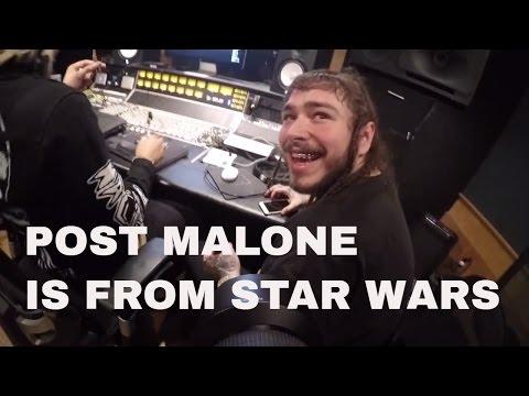 POST MALONE BTS VLOG : STONEY