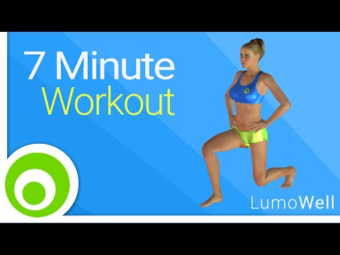7 Minute Workout to lose weight quick, burn fat and tone your body