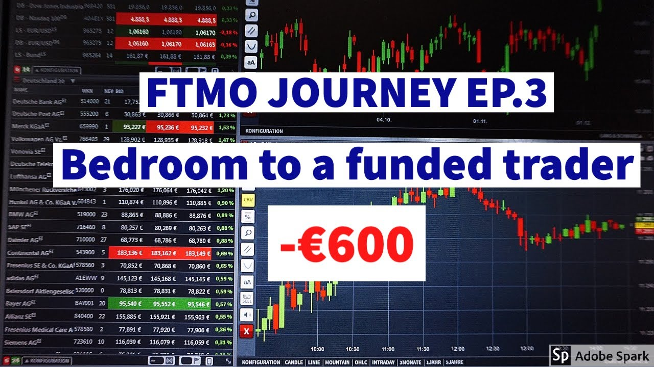 FTMO FOREX TRADING: MY JOURNEY BEDROOM TO FUNDED TRADER EP.3