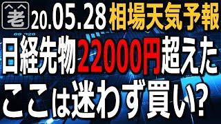 【相場天気予報】日経225先物は一時22000円を超えた。東証の売買代金も3兆円を超え、相場はバブルの様相だ。この先どこまで上がるのか?今どんなトレードが可能か?注意点は?ラジオヤジの相場解説。