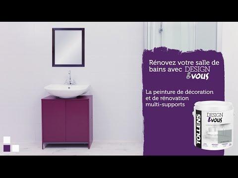Rénover sa salle de bain avec la peinture designvous tollens